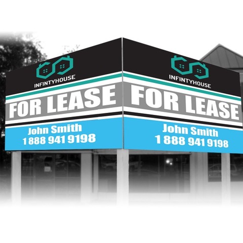Real Estate Banner Electronic Business Cards